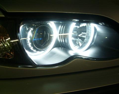 BMW E46 3シリーズにイカリング取付けしました。 関東 埼玉サムネイル
